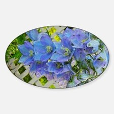 Delphiniums Decal