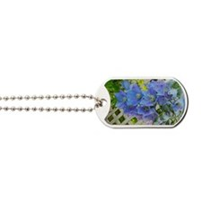 Delphiniums Dog Tags