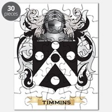 Timmins Family Crest (Coat of Arms) Puzzle