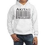 Akita Priceless Weathered Barcode Hooded Sweatshir