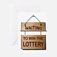 LOTTERY Greeting Cards