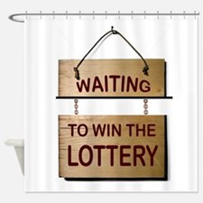 LOTTERY Shower Curtain