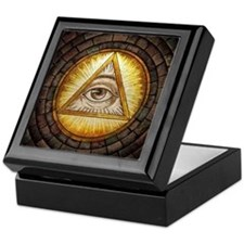 All Seeing Eye Keepsake Box