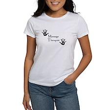 Handprints Women's T (White)