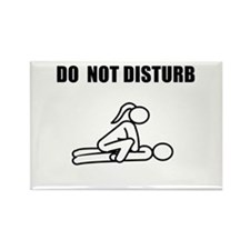 Do Not Disturb<br> Rectangle Magnet