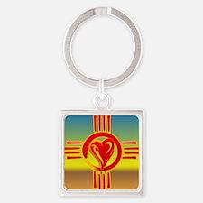 DESERT ZIA LOVE Keychains