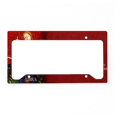 Libra Historical License Plate Holder
