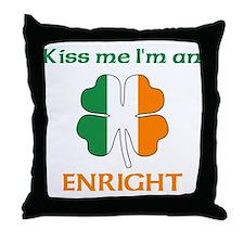 Enright Family Throw Pillow