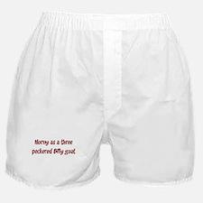 Horny as a three peckered B Boxer Shorts