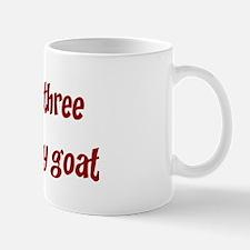 Horny as a three peckered B Mug