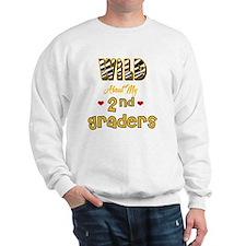 Wild about my  2nd Graders Sweatshirt