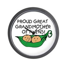 proud great grandmother pod Wall Clock