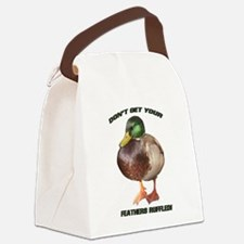 Duck Canvas Lunch Bag