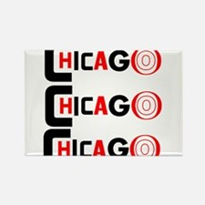 Chicago Pride Rectangle Magnet (100 pack)