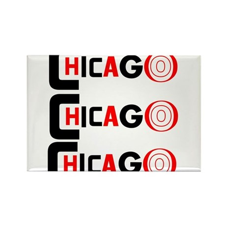 Chicago Pride Rectangle Magnet (10 pack)