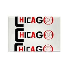 Chicago Pride Rectangle Magnet