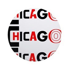 Chicago Pride Ornament (Round)