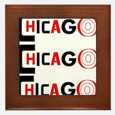 Chicago Pride Framed Tile