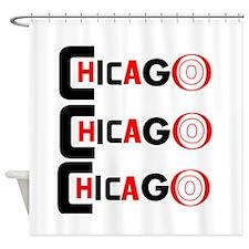 Chicago Pride Shower Curtain