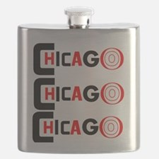 Chicago Pride Flask
