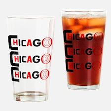 Chicago Pride Drinking Glass