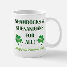 SHAMROCKS & SHENANIGANS Mug
