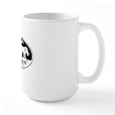 Nice to meet you  dog sniff Mug