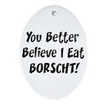 Borscht Oval Ornament
