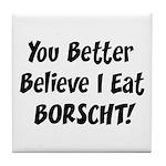 Borscht Tile Coaster