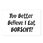 Borscht Postcards (Package of 8)