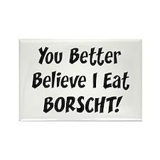 Borscht Rectangle Magnet