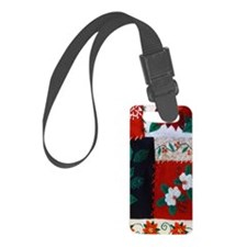 Ugly Christmas Sweater Luggage Tag
