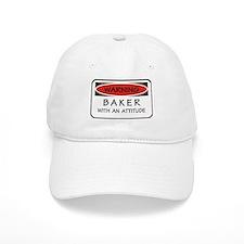 Attitude Baker Baseball Cap