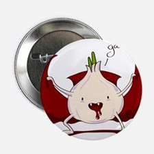 """Garrr!!! Halloween Vampire 2.25"""" Button"""