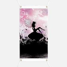 Fairy Silhouette Banner