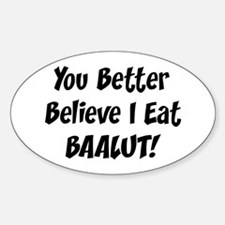 Baalut Oval Decal
