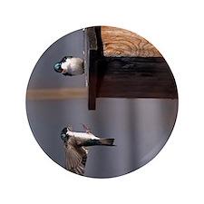 """(12p) Swallows 9659 3.5"""" Button"""