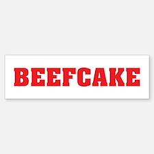 BeefCake Bumper Bumper Bumper Sticker
