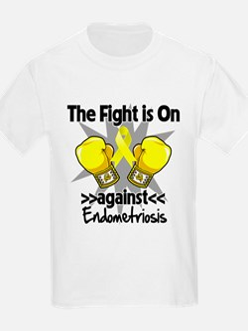 Fight is On Endometriosis T-Shirt