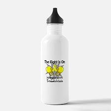 Fight is On Endometriosis Water Bottle