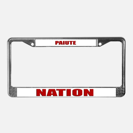 Paiute Nation License Plate Frame