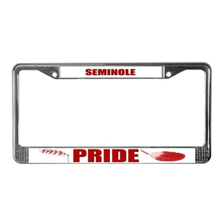 Seminole Pride License Plate Frame