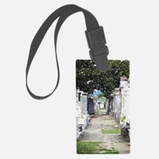 New Orleans Cemetary Luggage Tag