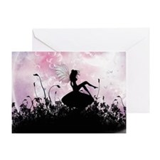 Fairy Silhouette Greeting Card
