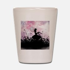 Fairy Silhouette Shot Glass