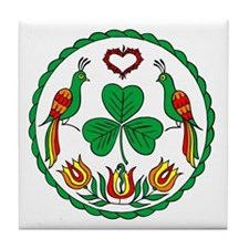 Irish Hex Tile Coaster