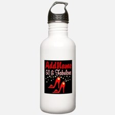 RED HOT 50TH Water Bottle