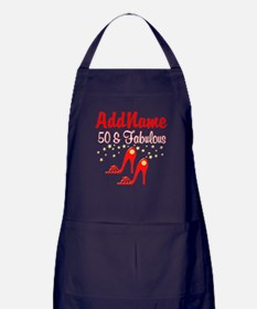 RED HOT 50TH Apron (dark)