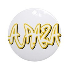 La Raza Male Ornament (Round)