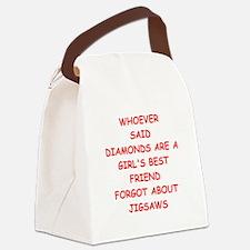 JIGSAW Canvas Lunch Bag
